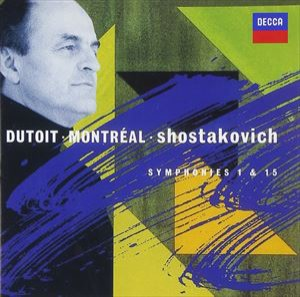 ショスタコーヴィチ:交響曲第1番&第15番 [CD]