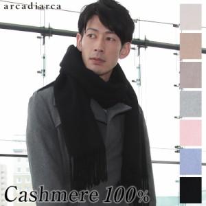 8fc7ec6b4e9e1 アルカディアルカ カシミア100% メンズ織物無地ストール arcadiarca フリーサイズ(送料無料) (