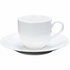 EBM-7538410 ファッションホワイト コーヒーカップ FM900-305 (EBM7538410)