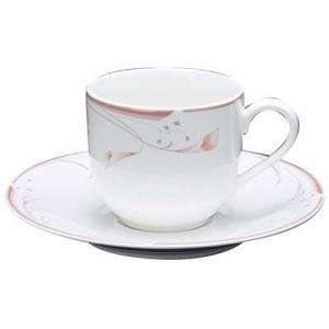 EBM-7538660 フラワーピンク コーヒーカップ OFM01-305 (EBM7538660)