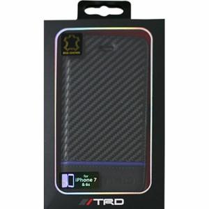 5b748b8fe3 エアージェイ TRD-P7-B4 iPhone7/6s専用カーボン調手帳型ケース