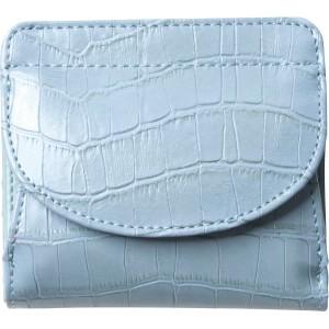 2187d92f3dcd 4582164647179 イルムス ホック式財布 ブルー (包装・のし可)
