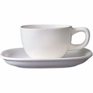 05-0573-0301 柳宗理 Y-101白 セラミック コーヒーカップ・ソーサー (0505730301)