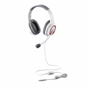 エレコム 【送料無料】HS-G30WH ゲーミングヘッドセット/HS-G30/オーバーヘッド/ホワイト (HSG30WH)