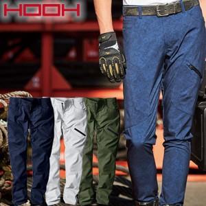 村上被服 HOOH 作業服 ストレッチカーゴパンツ 6804 作業着 春夏 鳳皇 2020年春夏新作 軽量 メンズ