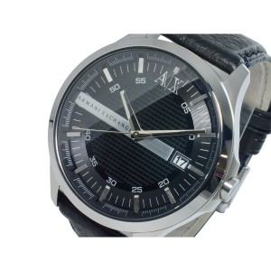 アルマーニエクスチェンジ メンズ 腕時計/ARMANI EXCHANGE レザー 腕時計