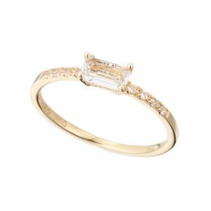 [即日発送]マレアリッチ レディース ピンキーリング 指輪1号/MareaRich Pinky Square ピンキーリング 指輪