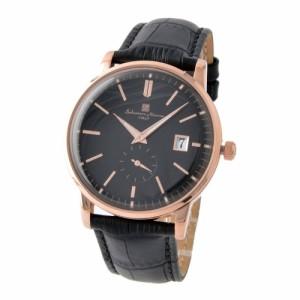 [即日発送]サルバトーレマーラ メンズ 腕時計/SalvatoreMarra 腕時計 ブラック