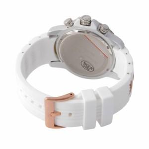 [即日発送]サルバトーレマーラ メンズ 腕時計/SalvatoreMarra クロノグラフ 腕時計 ホワイト  卒業祝入学祝プレゼント