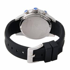 [即日発送]サルバトーレマーラ メンズ 腕時計/SalvatoreMarra クロノグラフ 腕時計 ブラック
