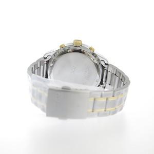 セイコー メンズ 腕時計/SEIKO クロノグラフ 100m防水 腕時計 チャコールグレー