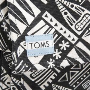 トムス レディース&メンズ リュックサック バックパック/TOMS TIKI CANVAS BACKPACK リュックサック ブラック  バレンタインデー