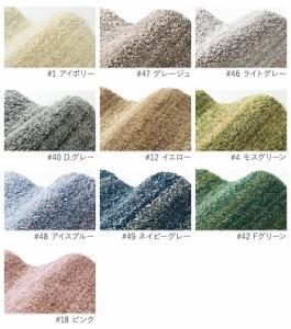 手触り柔らかい 極細繊維使用 Mリュストル (S) ラグカーペット 日本製 円形 約140×200cm