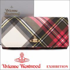 ヴィヴィアンウエストウッド 財布 ヴィヴィアン Vivienne Westwood 長財布 レディース メンズ チェック 2800V EXHIBITION 17SS