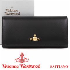 ヴィヴィアン 財布 ヴィヴィアンウエストウッド Vivienne Westwood 長財布 レディース メンズ ブラック 2800V SAFFIANO BLACK
