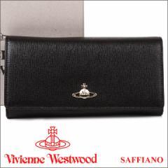 ヴィヴィアンウエストウッド 財布 ヴィヴィアン Vivienne Westwood 長財布 レディース メンズ ブラック 1032V SAFFIANO BLACK 17AW