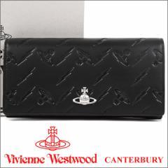 ヴィヴィアンウエストウッド 長財布 ヴィヴィアン Vivienne Westwood レディース メンズ 財布 ブラック 51060025 CANTERBURY BLACK 18SS