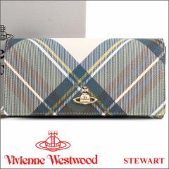ヴィヴィアンウエストウッド 財布 ヴィヴィアン Vivienne Westwood 長財布 レディース メンズ チェック 51060025 STEWART 18SS