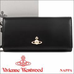 ヴィヴィアンウエストウッド 長財布 ヴィヴィアン Vivienne Westwood レディース メンズ 財布 ブラック 51060025 NAPPA BLACK 18SS