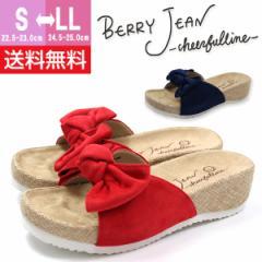 即納 あす着 送料無料 サンダル コンフォート レディース 靴 BERRY JEAN ONF1300