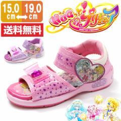 即納 あす着 送料無料 プリキュア サンダル ベルクロ キッズ ジュニア 靴 precure 5069