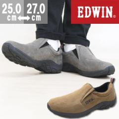 即納 あす着 送料無料 スニーカー メンズ エドウィン スリッポン 靴 EDWIN EDW-7031