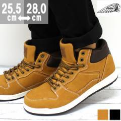 即納 あす着 送料無料 スニーカー メンズ インディアン ハイカット 靴 Indian IND-11800