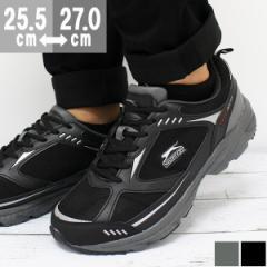 即納 あす着 送料無料 スニーカー メンズ 黒 ローカット 靴 Slazenger SL-1807M