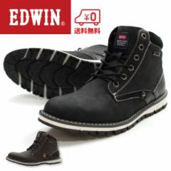 即納 あす着 送料無料 ブーツ メンズ エドウィン ハイカット 靴 EDWIN EDW-7922