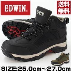 即納 あす着 送料無料 エドウィン スニーカー ブーツ ハイカット メンズ 靴 EDWIN EDS-3590