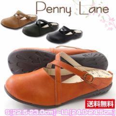 秋新作 秋色 即納 あす着 送料無料 サンダル クロッグ レディース 靴 PENNY LANE 1220
