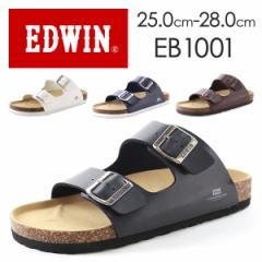 即納 あす着 送料無料 エドウィン サンダル コンフォート メンズ 靴 EDWIN EB1001