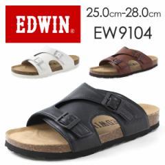 即納 あす着 送料無料 エドウィン サンダル コンフォート メンズ 靴 EDWIN EW9104