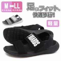 即納 あす着 サンダル レディース 歩きやすい 黒 スポーツ 靴 NEV SURF nev-23