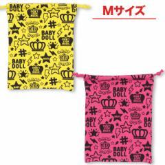 NEW 総柄キンチャク(Mサイズ)-巾着袋 雑貨 キッズ ベビーサイズ レディース ベビードール 子供服-8911
