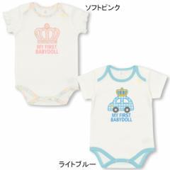 NEW MY FIRST BABYDOLL-半袖ボディスーツ-ベビーサイズ キッズ ベビードール 新生児 子供服-0124B