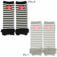 NEW レッグウォーマー/ボーダー柄 女の子 ベビーサイズ 子供用 ベビードール 子供服-0336