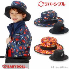 NEW リバーシブル サファリハット-雑貨 帽子 キッズ 子供用 ベビードール 子供服-0347