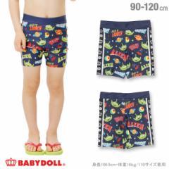 NEW ディズニー 総柄ラッシュパンツ ベビーサイズ キッズ ベビードール 子供服/DISNEY -0359K