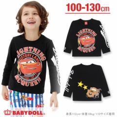 1/10NEW ディズニー 袖ロゴロンT-ベビーサイズ キッズ ベビードール 子供服/DISNEY-0467K