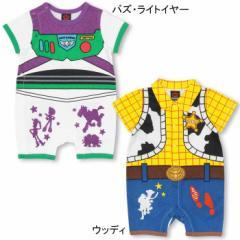NEW ディズニー キャラクターなりきり ロンパース-ベビーサイズ キッズ ベビードール 子供服 /DISNEY -0491B