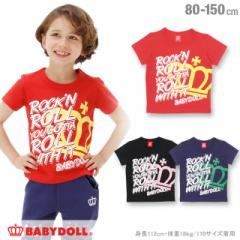 8/8一部再販 SS_SALE60%OFF ロックンロール Tシャツ ベビーサイズ キッズ ジュニア ベビードール 子供服-0625K