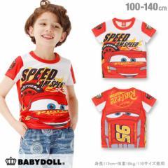 2/23NEW ディズニー キャラTシャツ-ベビーサイズ キッズ ベビードール 子供服 /DISNEY -0662K