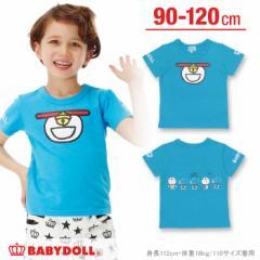 2/21NEW ドラえもん なりきりTシャツ-ベビーサイズ キッズ ベビードール 子供服-0713K