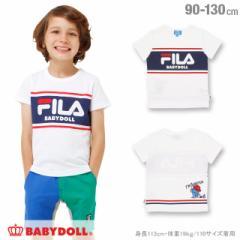 7/4NEW ドラえもん FILA Tシャツ ベビーサイズ キッズ ベビードール 子供服 -1208K