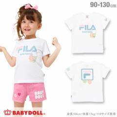 NEW サンリオ FILA キキララ Tシャツ ベビーサイズ キッズ ベビードール BABYDOLL 子供服 -1216K