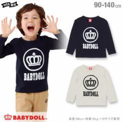 NEW 通販限定 サークル ロゴ ロンT 1230K ベビードール BABYDOLL 子供服 ベビー キッズ 男の子 女の子