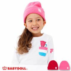 NEW ニット帽 1306 ベビードール 子供服 ベビーサイズ キッズ 女の子 雑貨 ニットキャップ 帽子 スポーティ(v30)