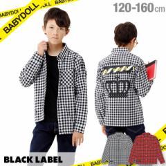 50%OFF SALE_0125FW BLACK LABEL チェック シャツ 1471K ベビードール BABYDOLL 子供服 キッズ ジュニア 男の子 女の子 小学生 中学生