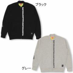 10/10NEW 親子お揃い ロゴ ジップジャケット 1566A ベビードール 子供服 大人 レディース リンクコーデ メタル かっこいい クール